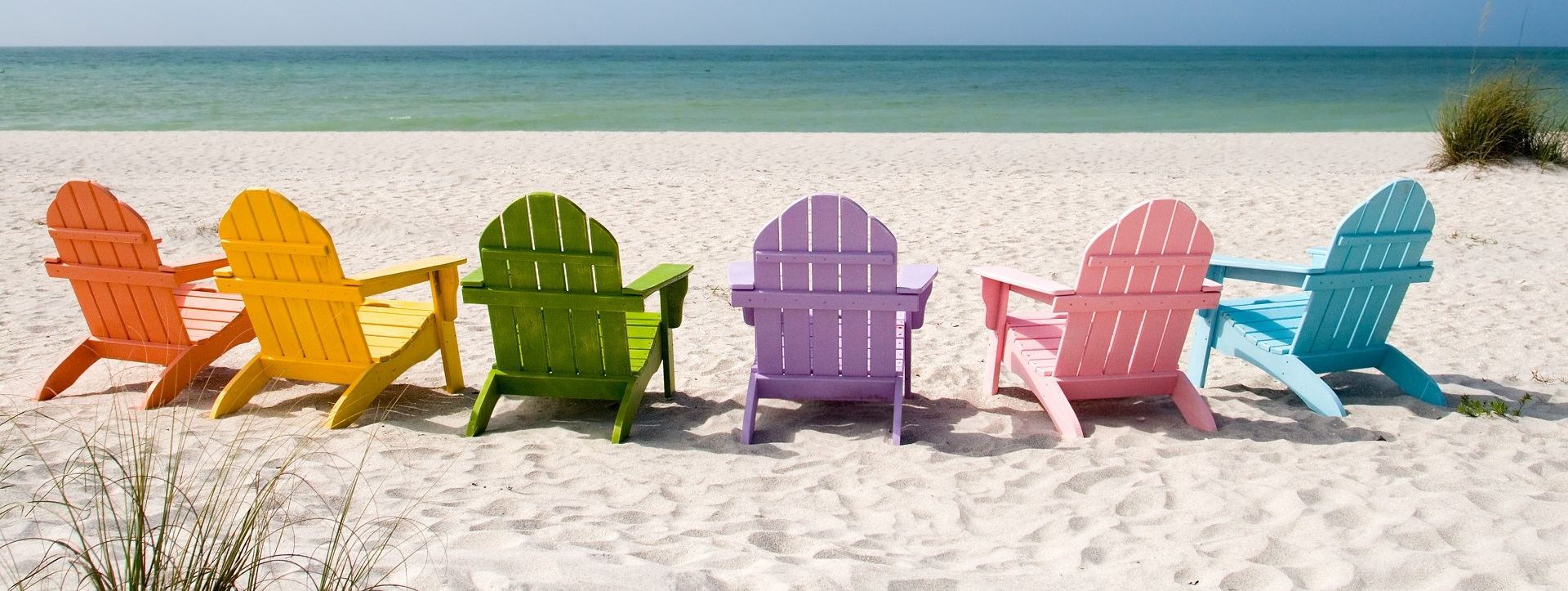 Web chairs on the beach1